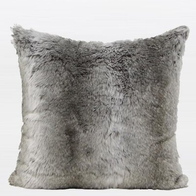 Luxury Faux Fur Throw Pillow