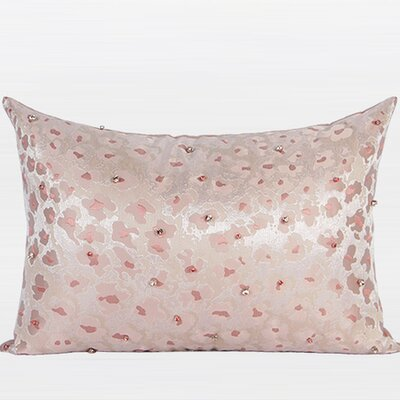Handmade Beaded Lumbar Pillow