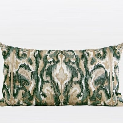 European Classical Pattern Embroidered Lumbar Pillow