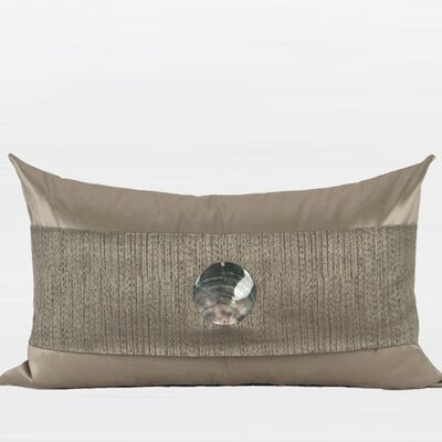 Round Shell Splicing Pillow Cover