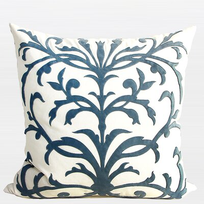European Pattern Embroidered Throw Pillow