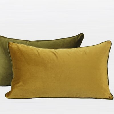 Flannel Fabric Lumbar Pillow