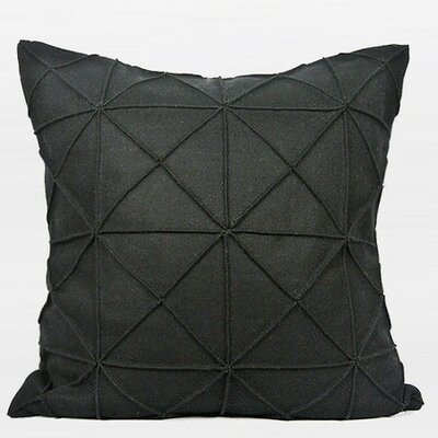 Pillow Cover Color: Black