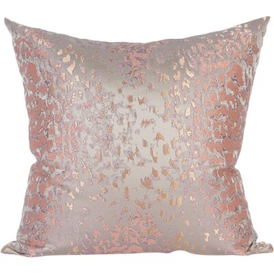 Satin Jacquard Throw Pillow