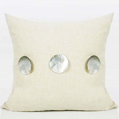 Handmade Round Shell Pillow Cover