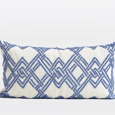 Beaded Lumbar Pillow