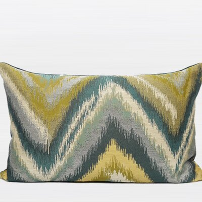 Chevron Lumbar Pillow