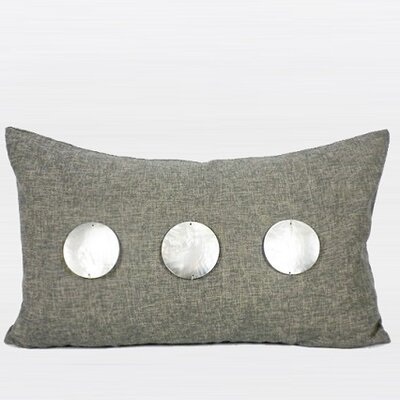 Handmade Round Shell Lumbar Pillow