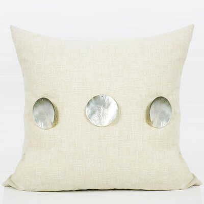 Handmade Round Shell Throw Pillow