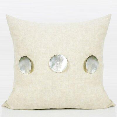 Handmade Round Shell Throw Pillow