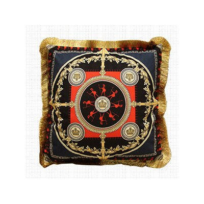Crusade Embellished Throw Pillow