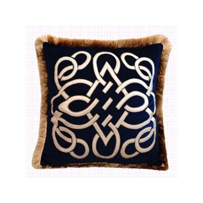 Louvre Embellished Throw Pillow