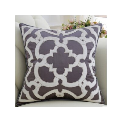 Mattox Moroccan Floral Throw Pillow Fill Material: Down/Feather