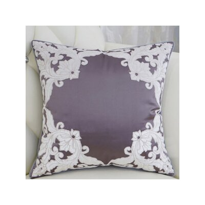 Mattox Detailed Floral Throw Pillow Fill Material: Polyester/Polyfill
