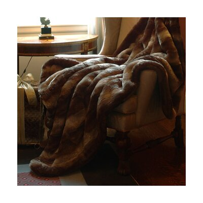 Double Weight Faux Fur Throw Blanket