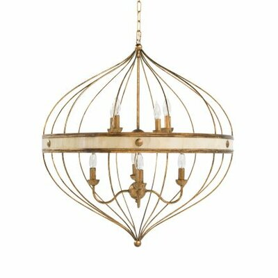 8-Light Foyer Pendant
