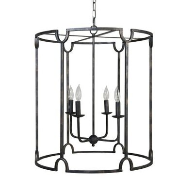 Sloan 4-Light Foyer Pendant