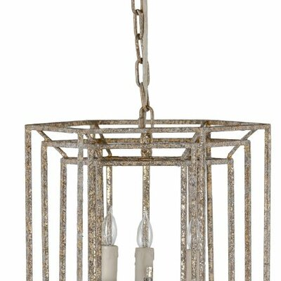 Margie 4-Light Foyer Pendant
