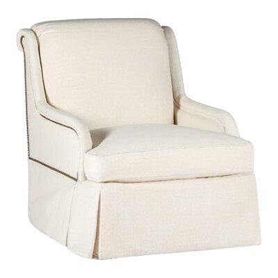 Charleston Swivel Armchair Upholstery: Gray