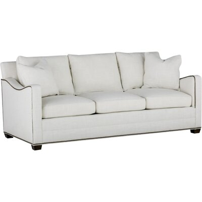 Porter Undulated Arm Sofa Upholstery: Gray