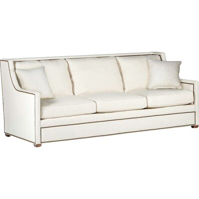 Hardy High Back Three Cushion Sofa Upholstery: Cream