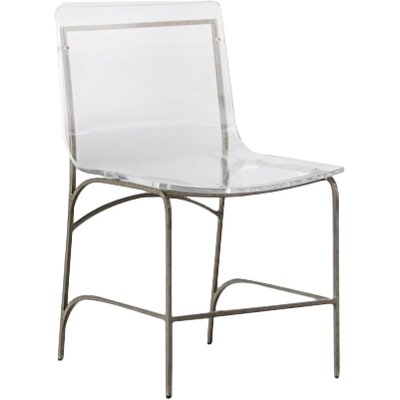 Penelope Dining Chair Color: Silver