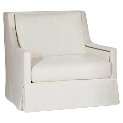 Helena Swivel Armchair Upholstery: Cream