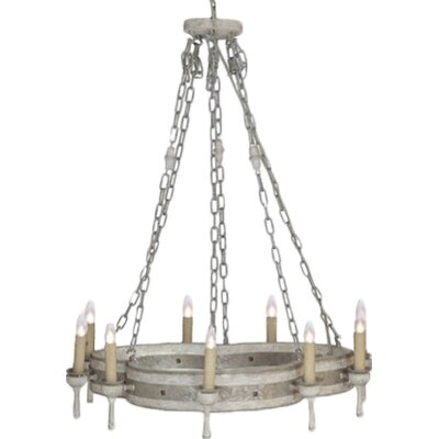 Trenton 9-Light Candle-Style Chandelier