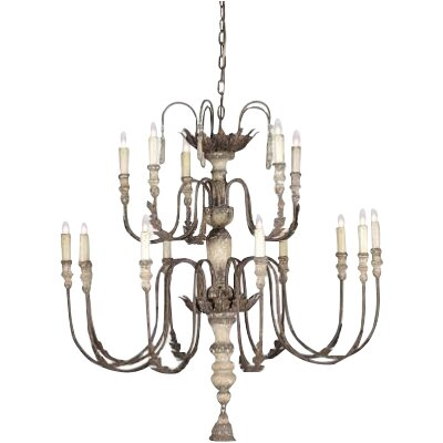 Katrina 16-Light Candle-Style Chandelier