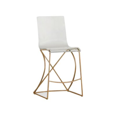 Johnson 24.75 Bar Stool Finish: Antique Gold