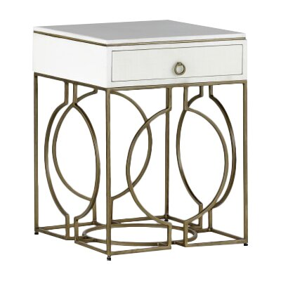 Cedric End Table with Storage