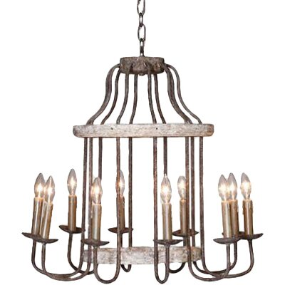 Adele 10-Light Candle-Style Chandelier