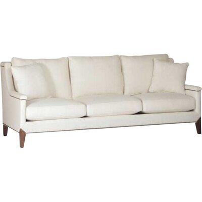 Liam Capped Arm Sofa Upholstery: Cream