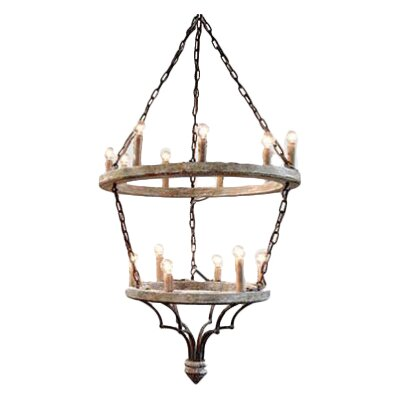 Joselyn 15-Light Candle-Style Chandelier