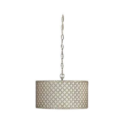 Vera 1-Light Drum Pendant
