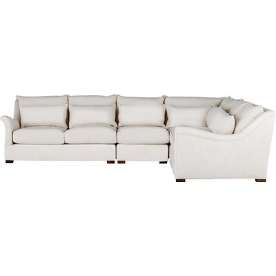 Westley Modular Sectional Upholstery: Cream