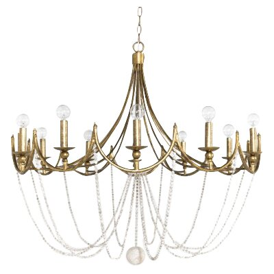 Sandra 12-Light Candle-Style Chandelier