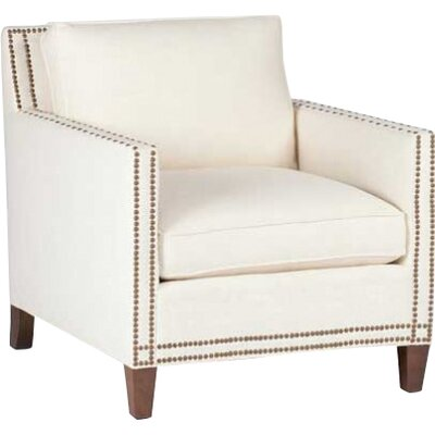 Carter Armchair Upholstery: Cream