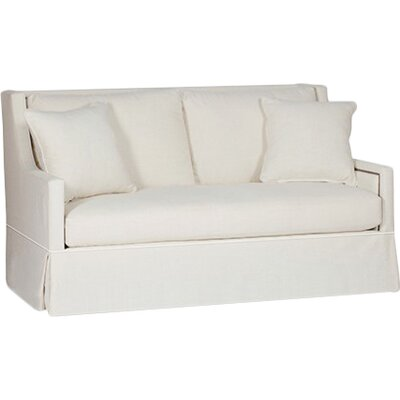 Helena High Back Loveseat Upholstery: Cream