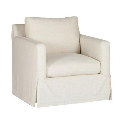 Hayes Swivel Armchair Upholstery: Gray