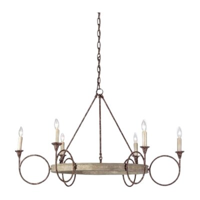 Bailey 6-Light Candle-Style Chandelier