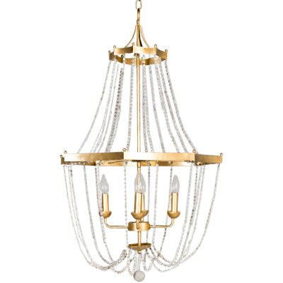 Whitney 4-Light Candle-Style Chandelier