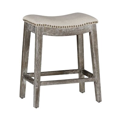 Vivian 24 Bar Stool Color: Burnished Oak