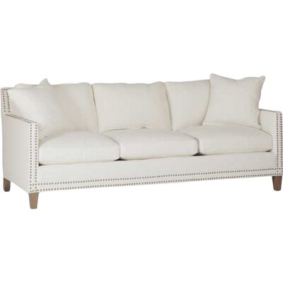 Carter Track Arm Sofa Upholstery: Cream