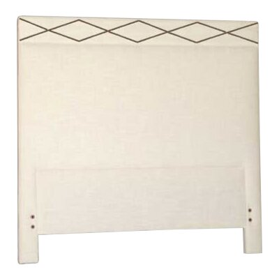 Thayer Upholstered Panel Headboard Size: Twin, Upholstery: Cream