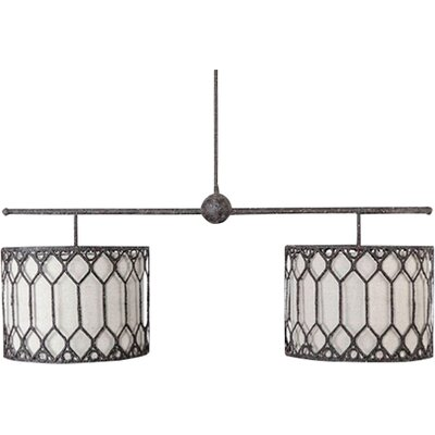 Collins 2-Light Drum Pendant