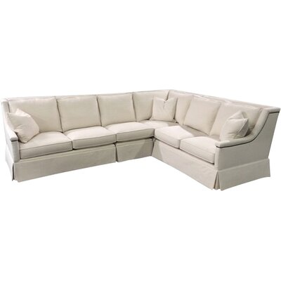 Layla Sectional Upholstery: Gray