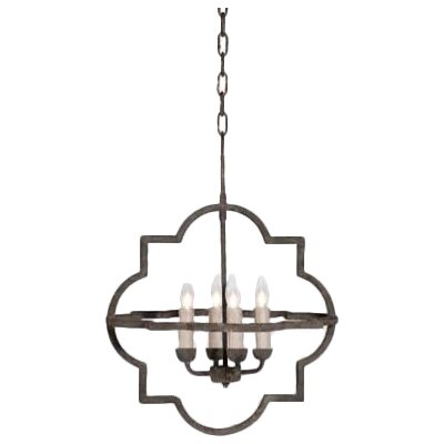 Athena 4-Light Foyer Pendant