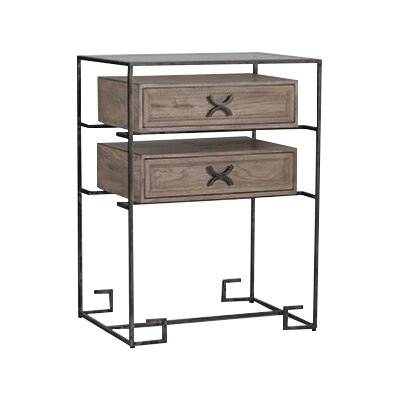 Jennifer End Table with Storage