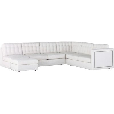 Abbott Sectional Upholstery: Cream